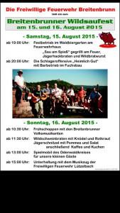 Wildsaufest in Breitenbrunn